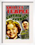 Captain January, Shirley Temple, Guy Kibbee on Midget Window Card, 1936 Prints