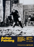 Painting Autumn Rhythm No. 30 Poster van Jackson Pollock