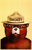 Smokey the Bear Masterprint
