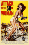 Attack of the 50 Foot Woman Masterprint