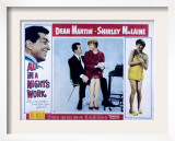 All in a Night&#39;s Work, Dean Martin, Shirley Maclaine, 1961 Print