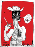 Ralph Steadman - OK! Let's Party Photo