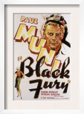 Black Fury, Paul Muni, 1935 Posters