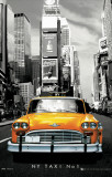 New York - Taxi No 1 Print