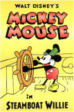 Steamboat Willie Reproduction image originale