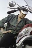 Elvis Presley-Motorcycle Kunstdrucke