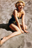 Marilyn Monroe-Beach Prints