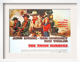 The Train Robbers, Rod Taylor, Ben Johnson, John Wayne, Ann-Margret, 1973 Prints