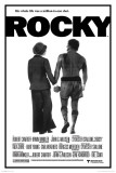 Rocky-And Adrian Holding Hands Poster