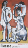 Women and their Toilette Affiches par Pablo Picasso