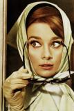 Audrey Hepburn-Glasses Poster