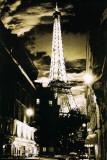 Paris-Eiffel Tower Lights Affiches