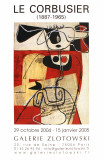 Galerie Zlotowski Affiche par Le Corbusier 
