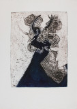 Danse Macbre Collectable Print by Richard Royce
