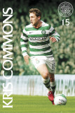 Celtic - Kris Commons 10/11 Poster