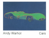 Formula 1 Car W196 R (1954) Collectable Print by Andy Warhol