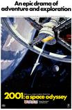 """2001: Ett rymdäventyr, """"2001: A Space Odyssey"""" (1968) Tryckmall"""