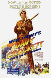 Davy Crockett, King of the Wild Frontier Masterprint