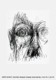 Øjne Samlertryk af Alberto Giacometti