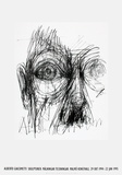 Eyes Collectable Print by Alberto Giacometti
