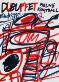 Jean Dubuffet - Malmo Kunsthall (sm) - Koleksiyonluk Baskılar