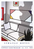 Interior with Shadow Reproductions pour les collectionneurs par Roy Lichtenstein