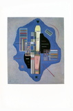 Joyeux Clair Collectable Print by Wassily Kandinsky