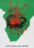 Against Apartheid Collectable Print by Robert Arman