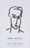 Katia (Blue text on bottom) Poster par Henri Matisse