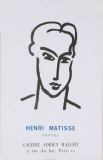 Katia (Blue text on bottom) Poster by Henri Matisse