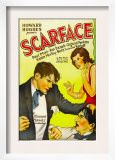 Scarface, Paul Muni, Ann Dvorak, 1932 Prints