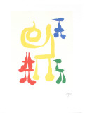 Parler Seul Collectable Print by Joan Mir&#243;