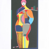 Fun City from Multiples Serigrafa por Richard Lindner