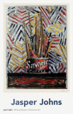 Savarin Pster por Jasper Johns
