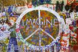 Parede de paz Posters