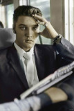 Elvis Presley-Traveling Poster