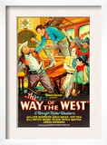 Way of the West, 1934 Posters