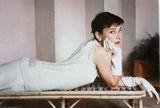 Audrey Hepburn-White Posters