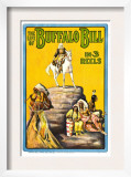 Life of Buffalo Bill, Early Documentary of the Legendary Westerner, 1912 Prints