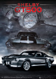 Ford Shelby - Mustang GT500 Portrait Poster