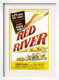 Red River, John Wayne, Joanne Dru, Montgomery Clift, 1948 Prints
