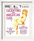 Glorifying the American Girl, Mary Eaton on Window Card, 1929 Prints