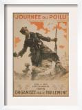 Journee du Poilu, c.1915 Poster by Maurice Neumont