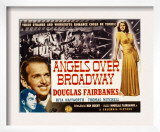 Angels over Broadway, Thomas Mitchell, Douglas Fairbanks Jr., Rita Hayworth, 1940 Print