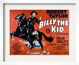 Billy the Kid, Robert Taylor, 1941 Prints