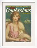 True Confessions, USA, 1924 Art