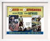 David and Bathsheba, Gregory Peck, Susan Hayward, 1951 Print
