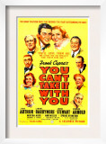 You Can'T Take it with You, James Stewart, Jean Arthur, 1938 Posters