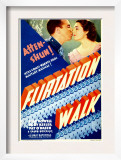 Flirtation Walk, Dick Powell, Ruby Keeler on Midget Window Card, 1934 Posters