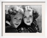 Priscilla and Rosemary Lane, c.1936 Prints